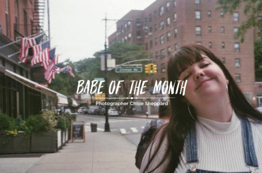 babe of the month | chloe sheppard