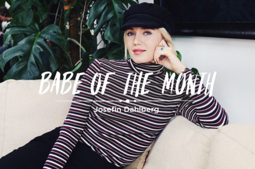 babe of the month | josefin dahlberg