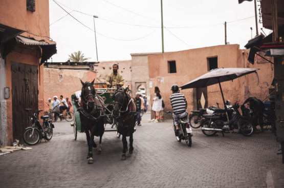 the backstreets of marrakech