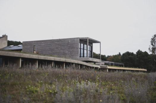 På ekospat La Gree des Landes i Frankrike